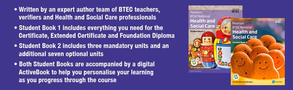 student book 1, btec nationals health social care, btec health and social care, cgp, oxford, hodder