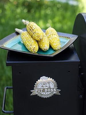 Amazon.com: Pit Boss Grills 340 Wood Pellet Grill: Garden ...