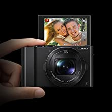 Tilting Selfie Display for Easy Self-Photography