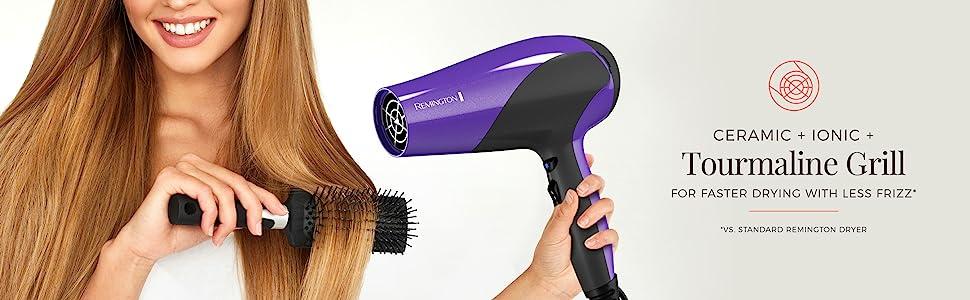 Amazon.com: Remington D3190 Secador de pelo con control del ...