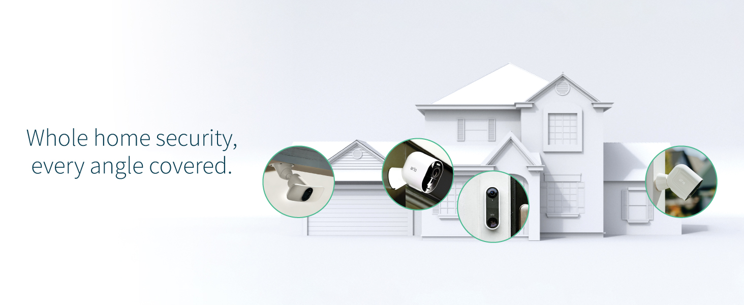 arlo, smart home, smart security, home security