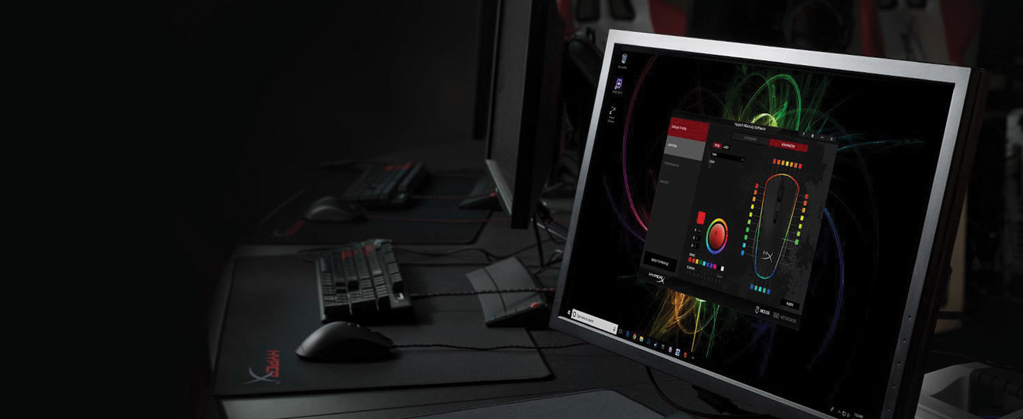 Compatible with powerful, easy-to-use HyperX NGenuity software