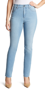 Gloria Vanderbilt Amanda Classic Tapered Jean – the original slimming jean