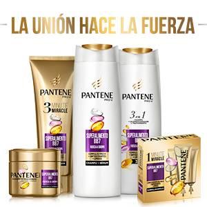 Pantene Pro-V Superalimento Champú, Acondicionador y Tratamiento 3 En 1 Para Pelo Frágil y Fino, Con Mezcla Pro-V, Antioxidantes Y Lípidos, 675 ml
