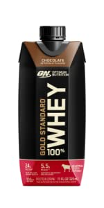 OPTIMUM NUTRITION READY TO DRINK PROTEIN GOLD STANDARD WHEY RTD POST WORKOUT PROTEIN SUPPORT OPTIMUM