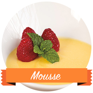 Mousse de Mango con Yogurt