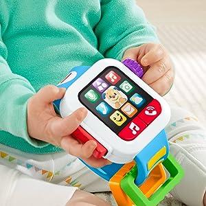 Fisher Price Smartwatch Hora de Aprender, Juguete con música y luz ...