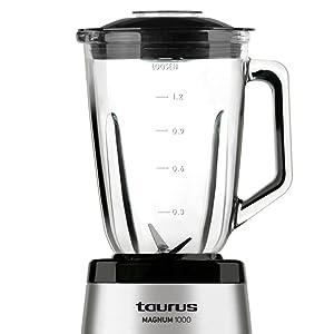 Taurus Optima Magnum Batidora de vaso, 1000 W, 1.5 L, acero ...