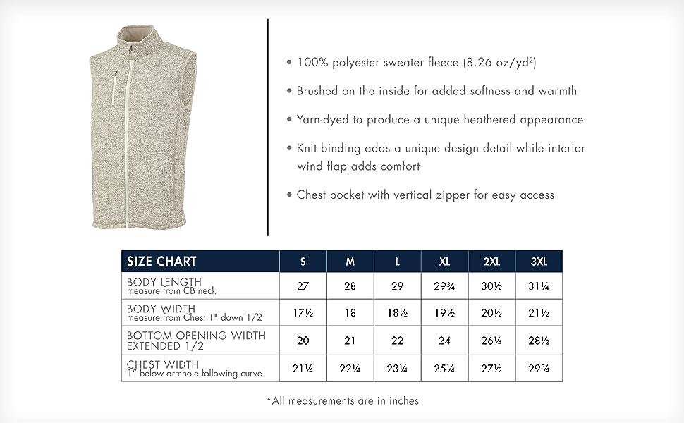 Pacific Heathered Vest