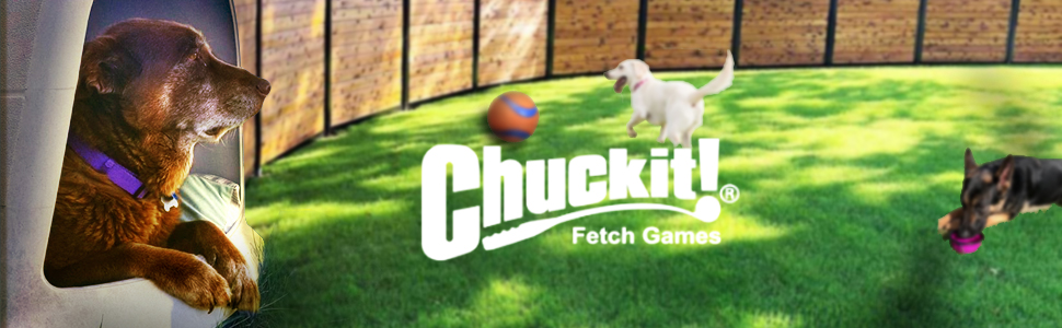 Chuckit Footer