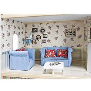 Itsimagical 73371 puppenhaus aus holz spielzeug - Casa amanda imaginarium ...