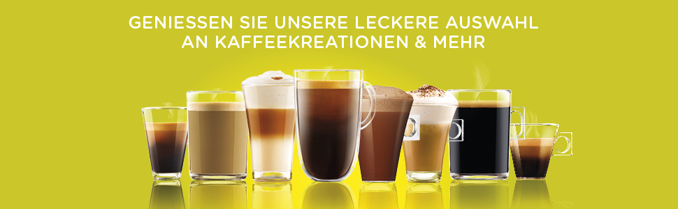Nestle Nescafe Dolce Gusto Capsule de café Latte Macchiato Cappuccino Espresso Arôme