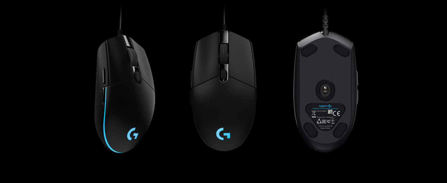3ccff340645 Amazon.com: Logitech G Pro Gaming FPS Mouse with Advanced Gaming ...
