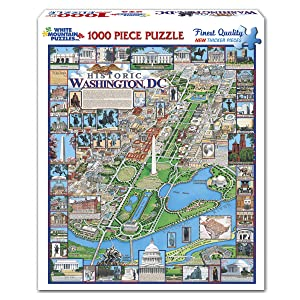 White Mountain Puzzles Washington DC - 1000 Piece Jigsaw Puzzle on civil war map washington dc, county map washington dc, interactive metro map washington dc, city map dc, print map washington dc, simple map washington dc, subway map for washington dc, google maps dc, zip code map nw dc, printable map washington dc, street map with metro stations washington dc, map showing washington, usa map washington dc, wmata map washington dc, united states map with dc, star map washington dc, map ofwashington dc, neighborhood and ward map dc, us map showing dc, map with metro stops dc,