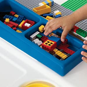 Amazon Com Step2 Build And Store Block And Activity Table
