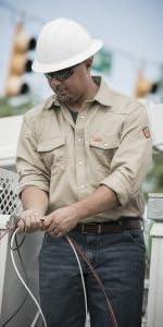 Wrangler FR Long Sleeve Two Pocket Workshirt