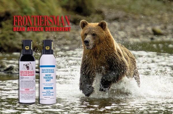Bear Protection With Frontiersman Bear Spray: Amazon.com : FRONTIERSMAN Bear Spray