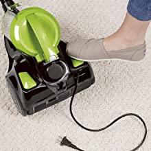 bisell; bissell; canister vacuum; cylinder vacuum; vacuum cleaner; hardwood vacuum; bagless vacuum