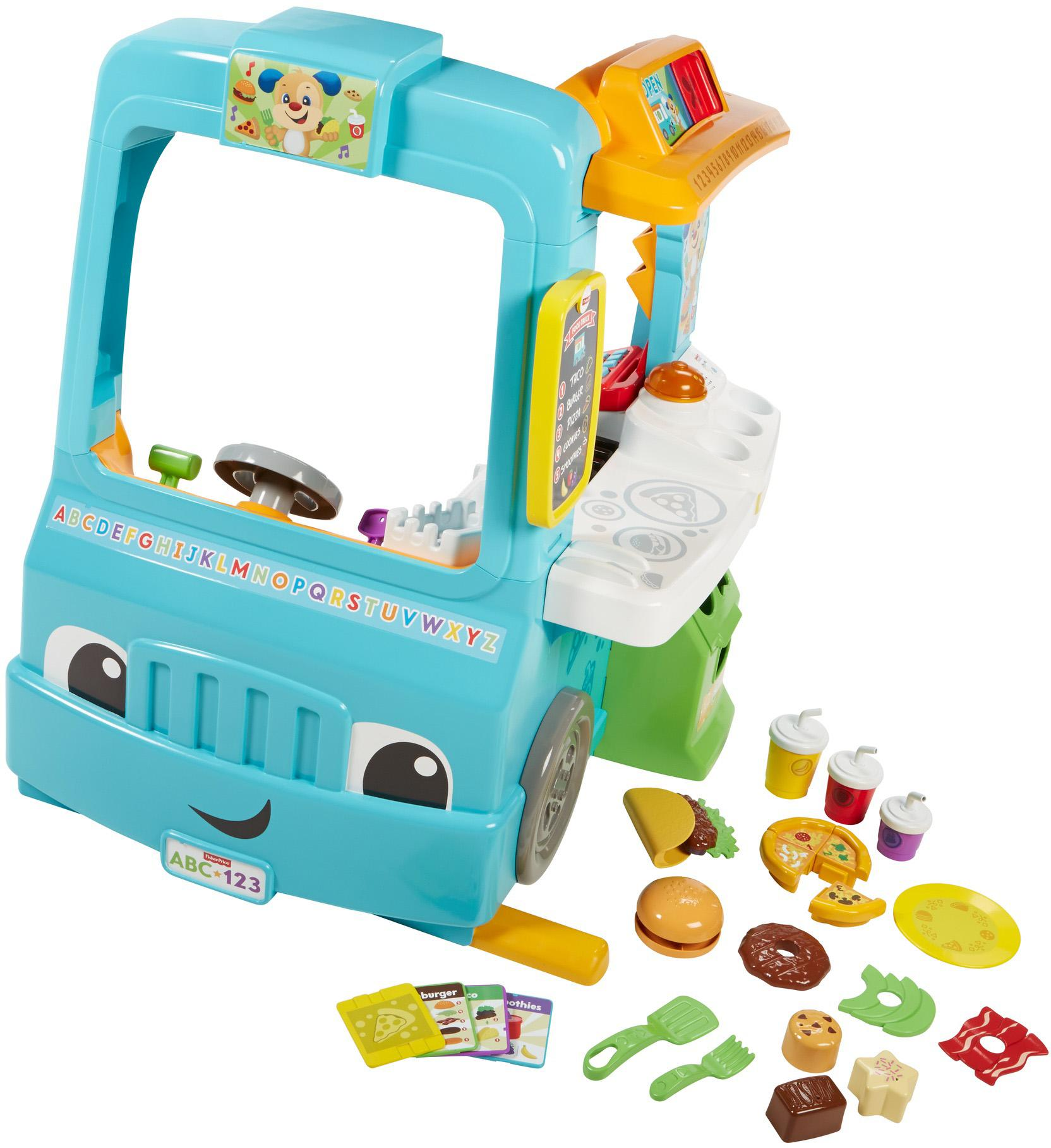 Food Toys R Us : Amazon fisher price laugh learn servin up fun food