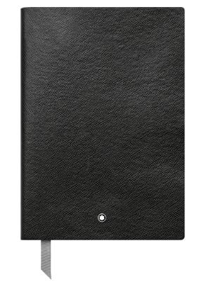 Montblanc 113294 Cuaderno Fine Stationery #146 – Bloc de líneas A5, negro