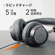ヘッドホン Bluetooth