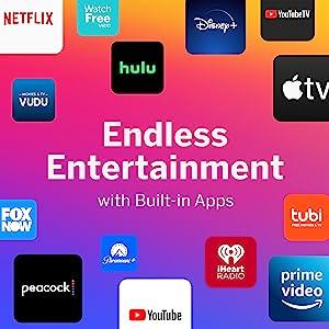 vizio apps Netflix cbs pandora disney+