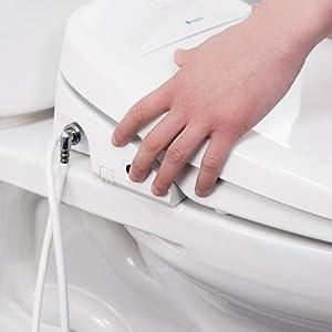 Brondell Swash 1400 Luxury Bidet Toilet Seat Fits