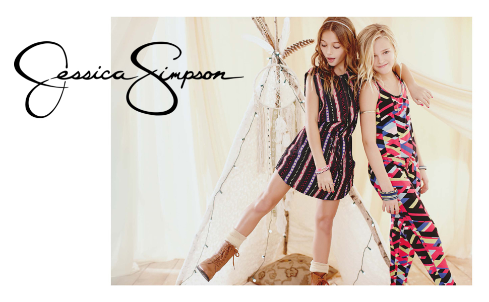 Jessica Simpson Girls Big Fashion Romper
