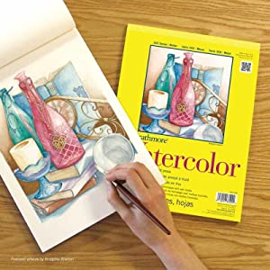 Strathmore Paper 300 Series Watercolor Class Pack Cold Press 1 Pack Original Versio 24 Sheets