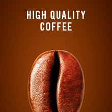 high quality coffee, coffee machine, pod