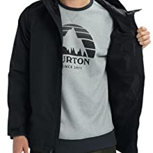 burton jacket rain portal lite weatherproof rain proof water resistant waterproof