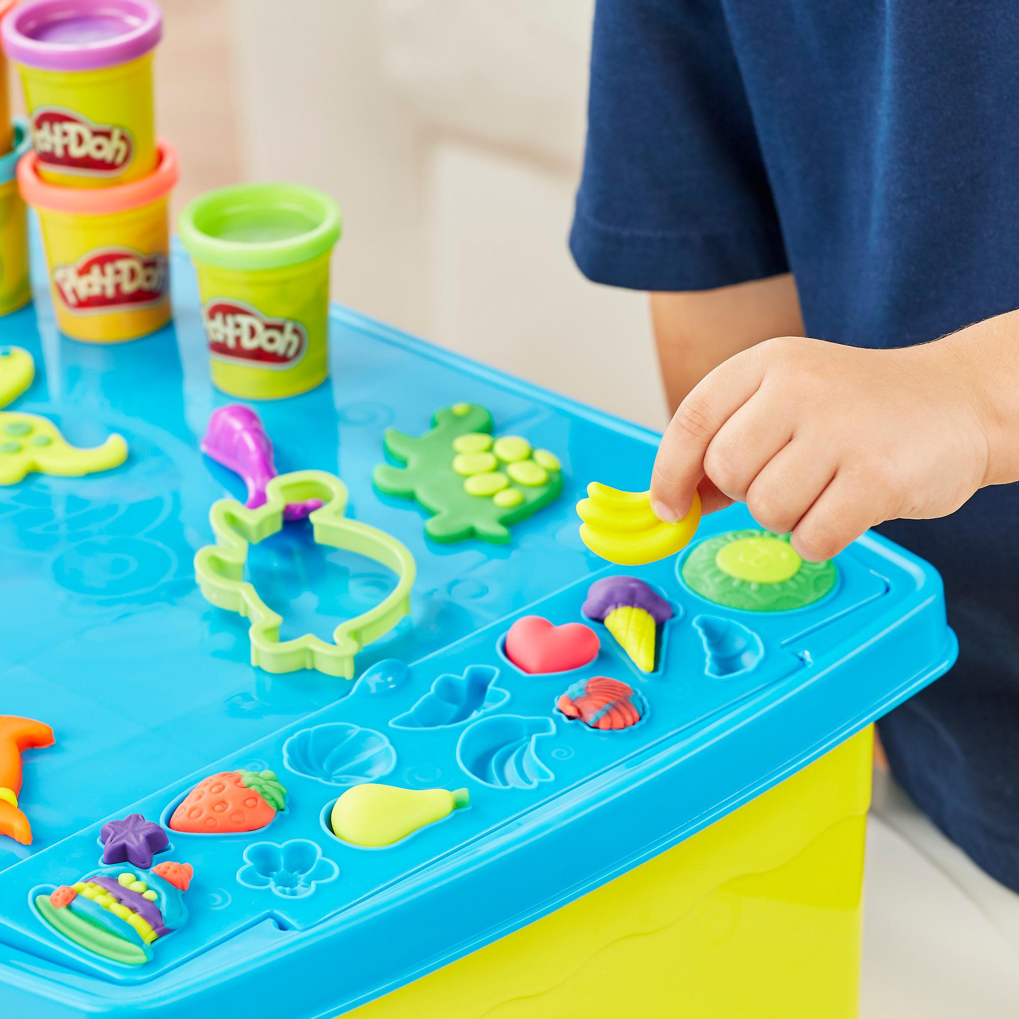 Amazon Com Play Doh Play N Store Table Arts Amp Crafts