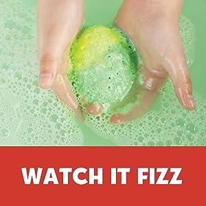 bath bombs, bath fizzies