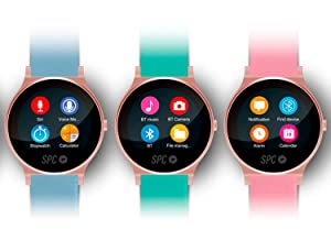 SPC Smartee Circle - Smartwatch de 1.22