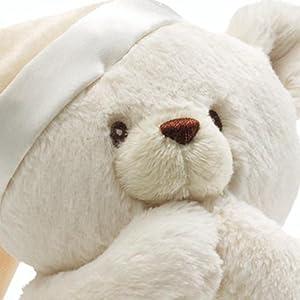 Baby Gund Prayer Teddy Bear Musical Stuffed Animal Plush 8 8 Gund
