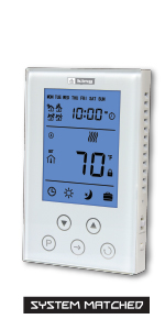 touch screen cleartouch line voltage electronic 7-day programmable key lock wall fan forced