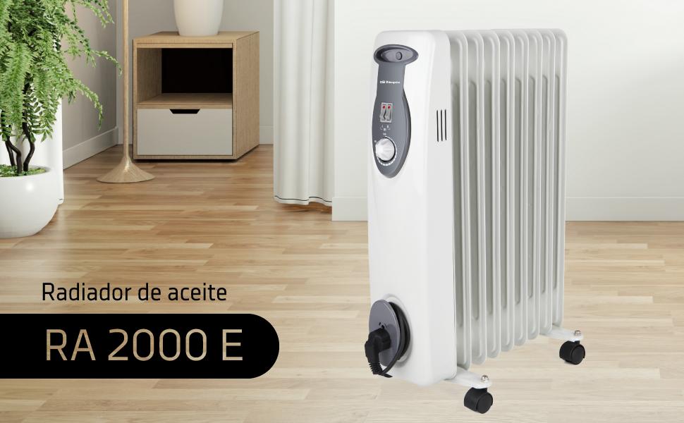 radiador de aceite, radiador orbegozo, radiador electrico, radiador, radiador electrico bajo consumo