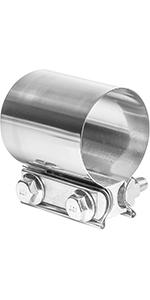 TOTALFLOW Butt Joint Exhaust Clamp