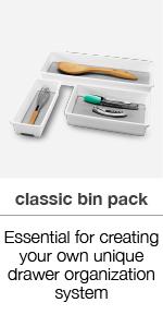 three bin pack