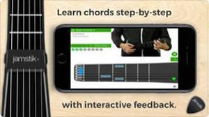 jamTutor(練習)画像 jamstik+ App(コンパニオンアプリ)画像 スマートギター スマートトイ jamstik MIDIコントローラー ギター iPhone Android Mac