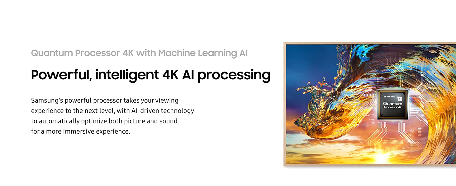 Quantum Processor 4K with Machine Learning AI