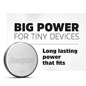 Big power for tiny devices. Long lasting power that fits