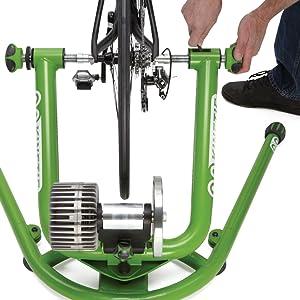 Kinetic Bike Mounting