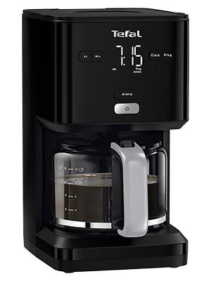 Tefal Smart N Light CM6008 Cafetera Filtro capacidad de 1.25 l, cabezal de extracción extragrande, programable 24 h, función aroma, apagado automático en 30 minutos, antigoteo: Amazon.es: Hogar