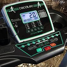 Cecotec - Cinta De Correr Runfit Extreme Track, Pantalla LCD, USB ...