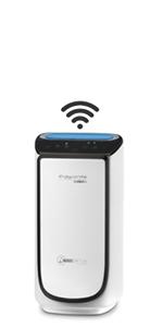 Rowenta PU6080F0 Intense Pure Air Connect XL - Purificador de Aire, 4 niveles de filtración hasta 140 m² con sensor de nivel de contaminación y gas de ajuste automático conectable mediante app: