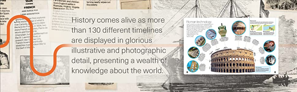 timelines of everything , books for kids