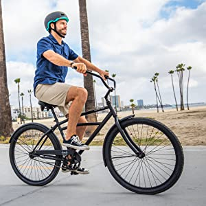 The Schwinn Huron Cruiser Bike Line Comes with Three Drive Train Options!