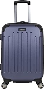 ben sherman luggage carry on checked wheeled travel suitcase rollaboard hardside kenneth cole bag
