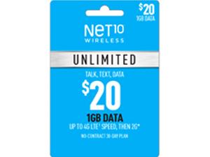 Unlimited 1GB Plan Refill Card